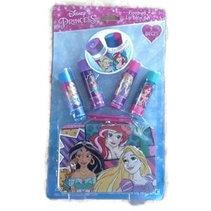 Disney Princesses Lip Balm Set With Tin